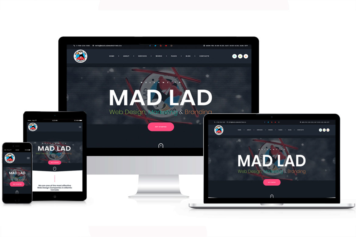 Mad lad marketing website desing mad lad marketing inc marketing st johns